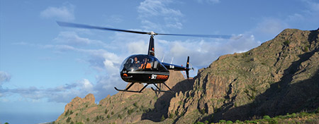 Helicopter tour beaches and cliffs