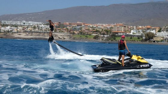 Flyboard Canarias Tenerife Fañabe