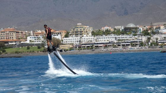 Flyboard Fañabe Tenerife
