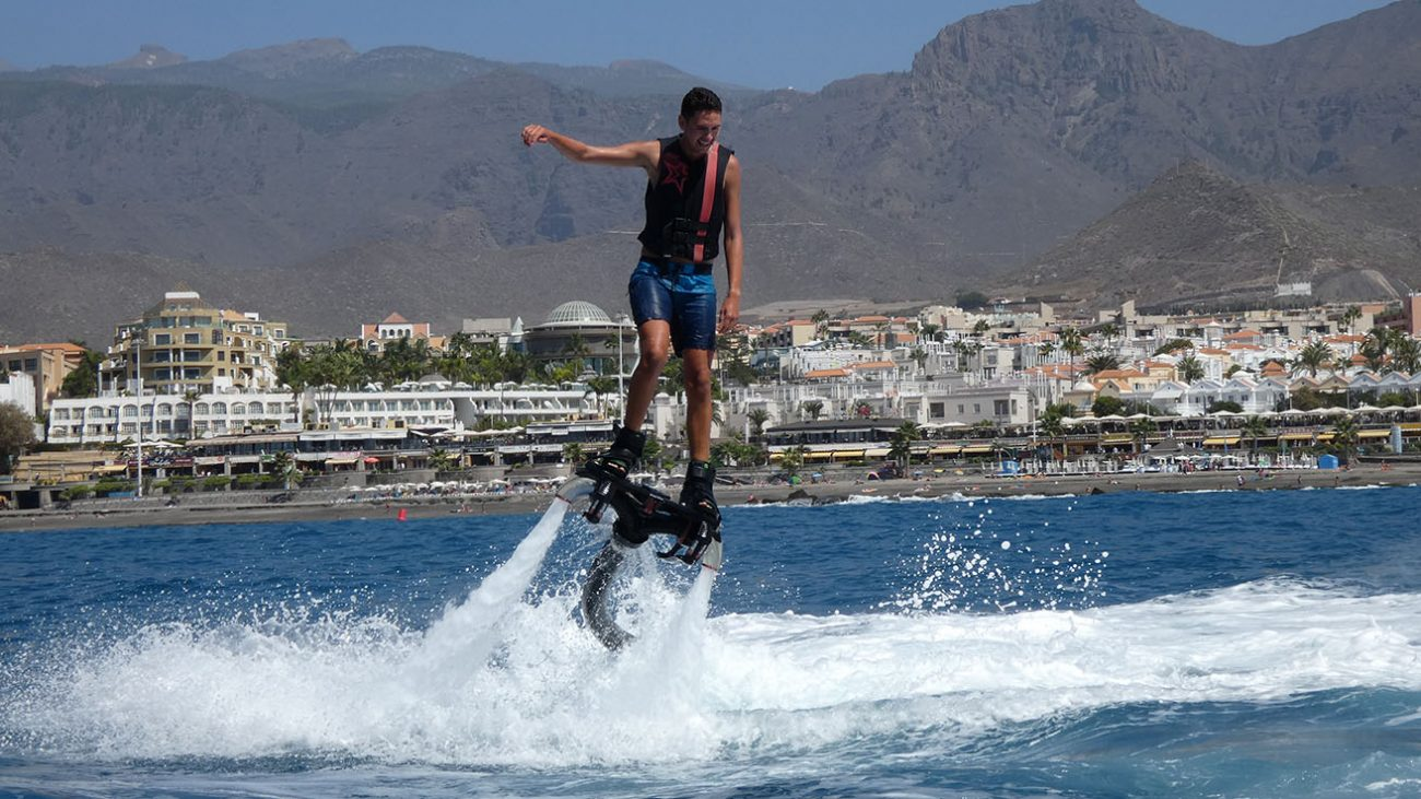 Flyboard Tenerife fun