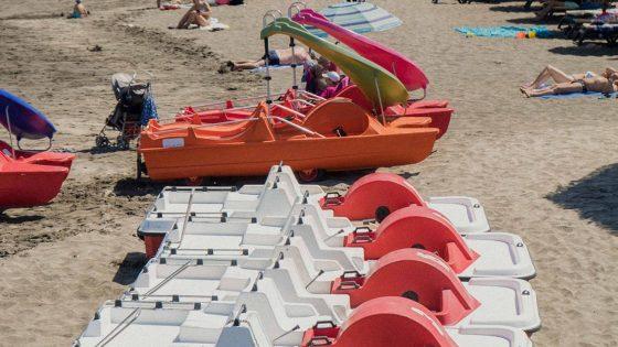 Pedal boat tenerife