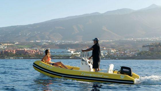 WaterSports Fañabe Tenerife sailing