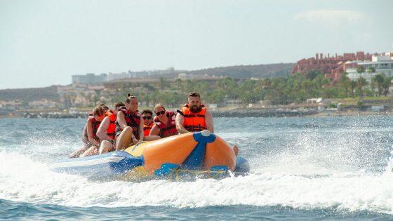 banana fun group waves Tenerife