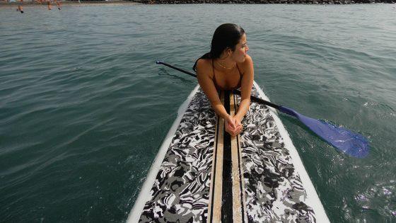 watersports tenerife paddel girl