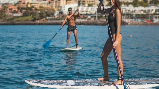 watersports tenerife paddel together